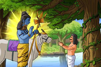 Bhasmasur Menjadi bhasma (Ashes)