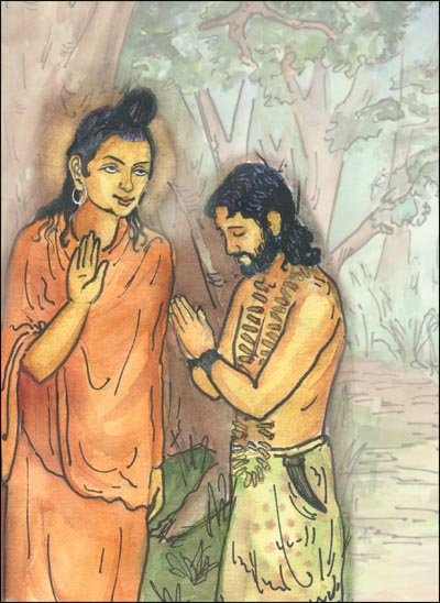 Angulimala became a monk