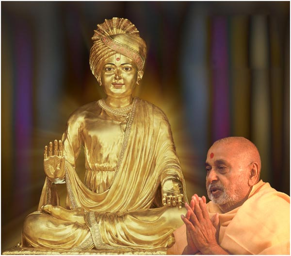 God and His holy Sadhu (Pramukh Swami Maharaj)